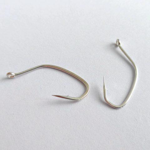 bass hook Saltwater hooks Sea fishing Big mouth fish